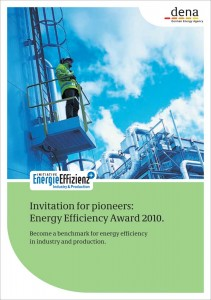Energy efficiency award 2010