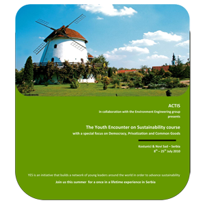 The Youth Encounter on Sustainability course