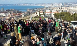 A Briton's one-man campaign for a litter-free Marseille