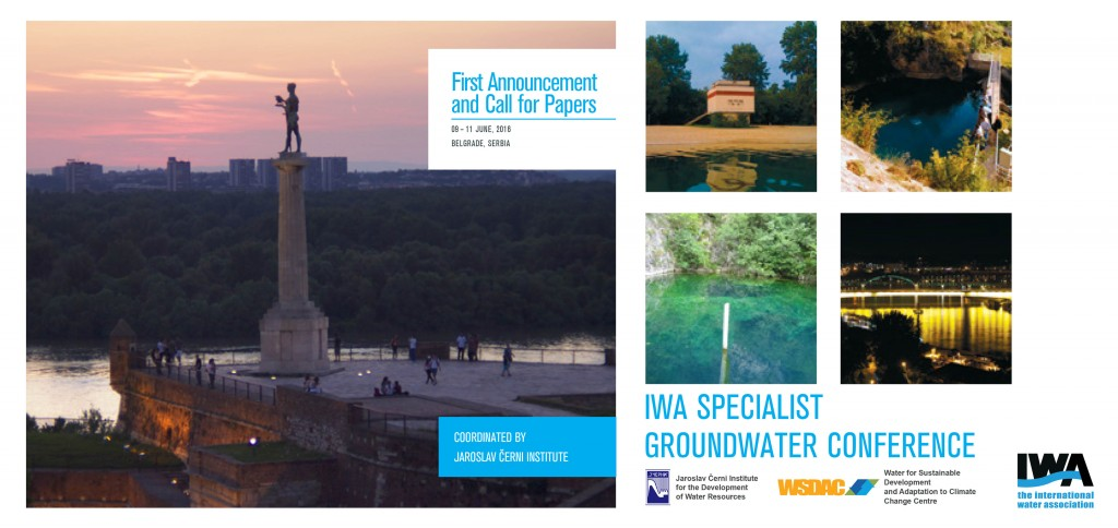 IWA Specialist Groundwater Conference