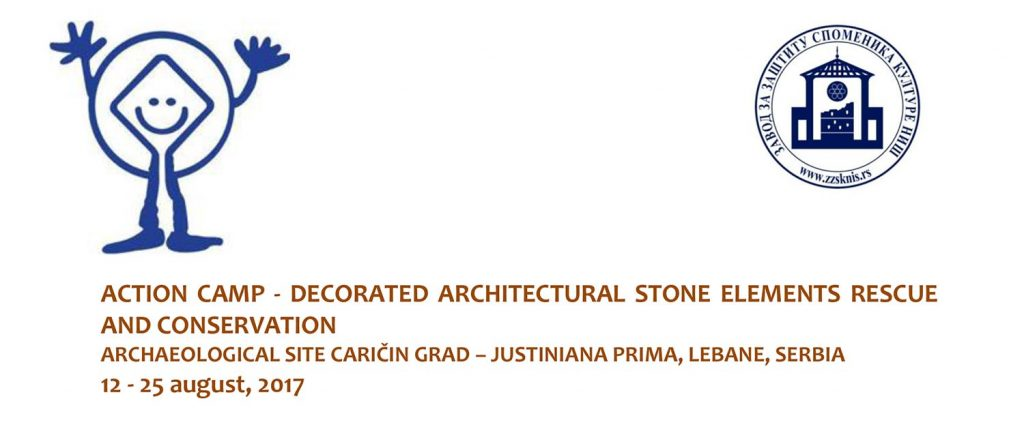 ACTION CAMP - DECORATED ARCHITECTURAL STONE ELEMENTS RESCUE AND CONSERVATION