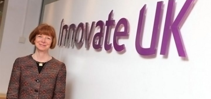 Dr Ruth McKernan, Innovate UK's Chief Executive