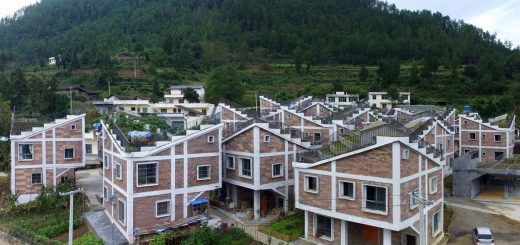 Jintai village reconstruction rural urban framework architecture_dezee