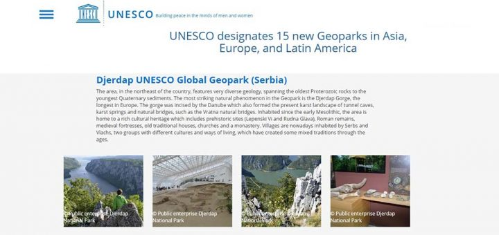 Djerdap UNESCO Global Geopark